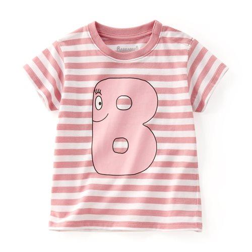 BARBAPAPA條紋印花T恤-08-Baby