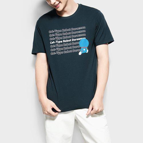 哆啦A夢印花T恤-11-男