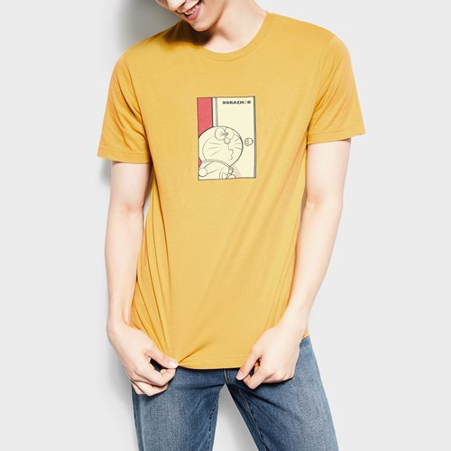 哆啦A夢印花T恤-09-男