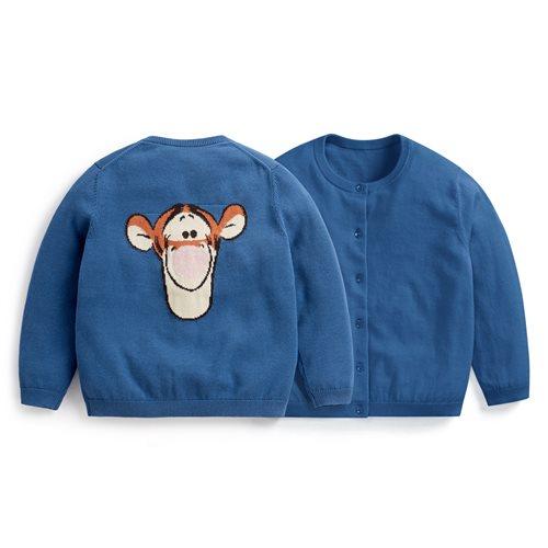 迪士尼系列棉質針織外套-童