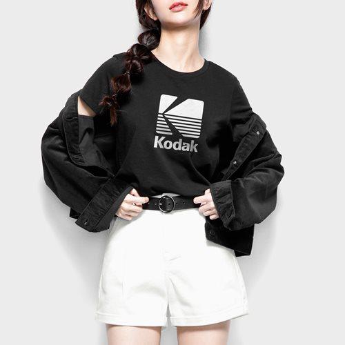 KODAK印花T恤-03-女