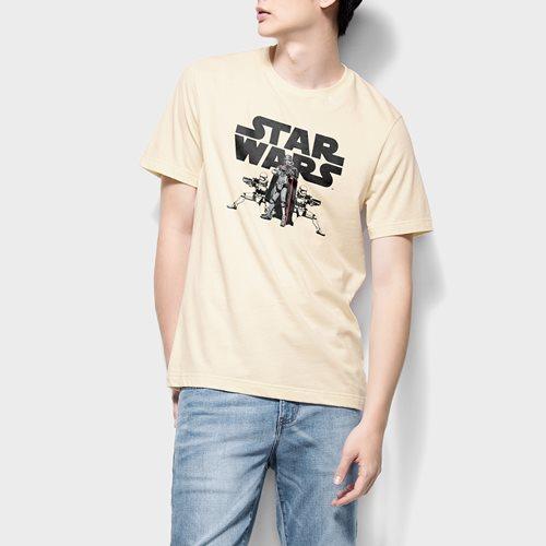 STAR WARS系列印花T恤-06-男