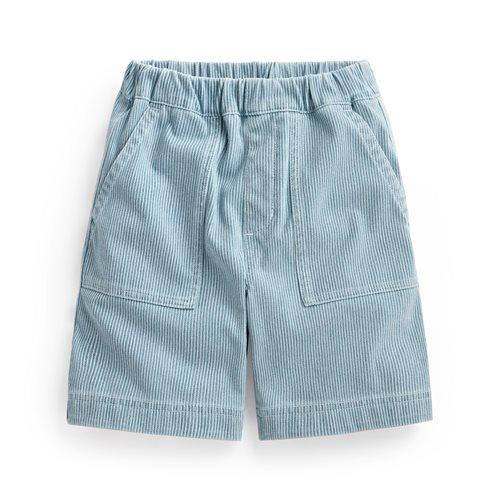 輕便條紋短褲-童