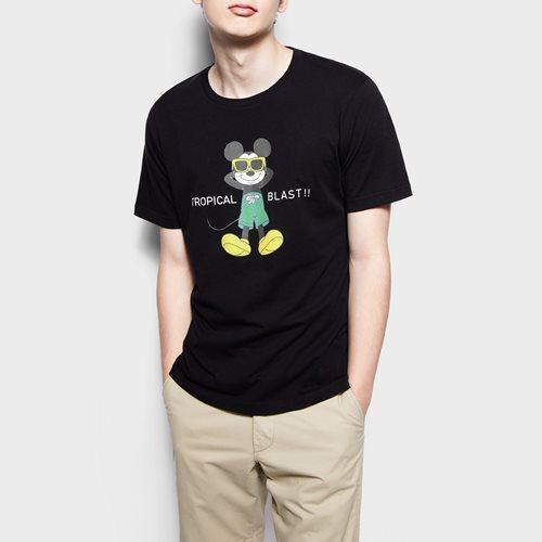 迪士尼系列印花T恤-03-男