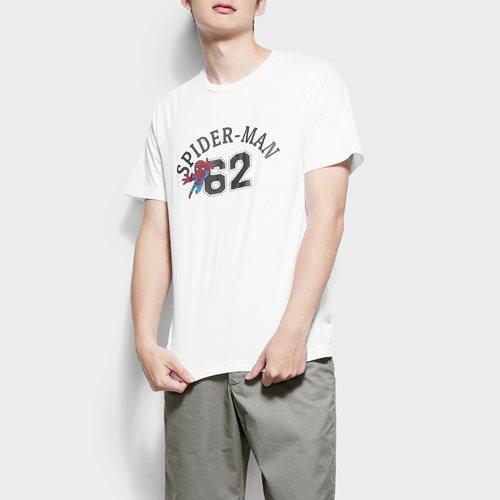 漫威系列印花T恤-12-男