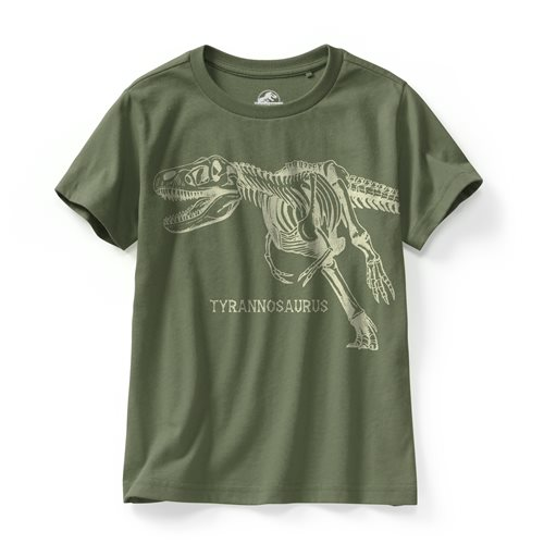 Jurassic World印花T恤-09-童