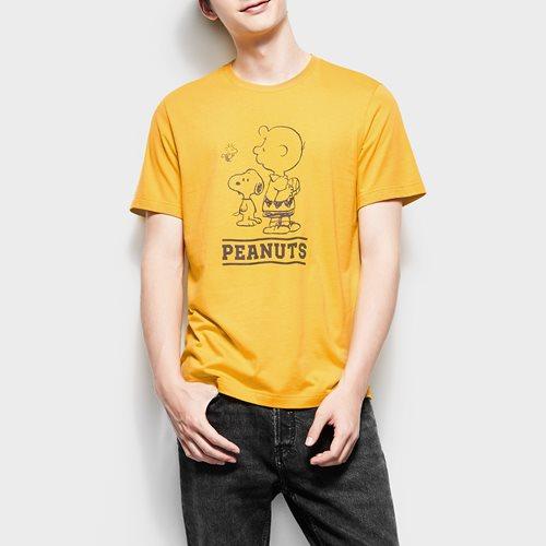 史努比系列印花T恤-15-男