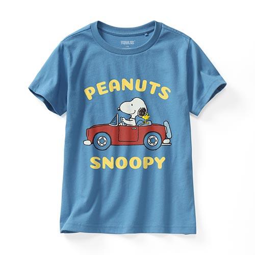 史努比系列印花T恤-27-童