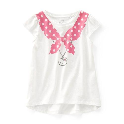 Hello Kitty印花T恤-07-童
