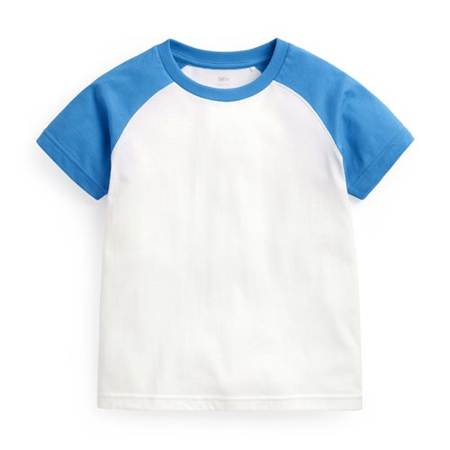 純棉拉克蘭袖T恤-童