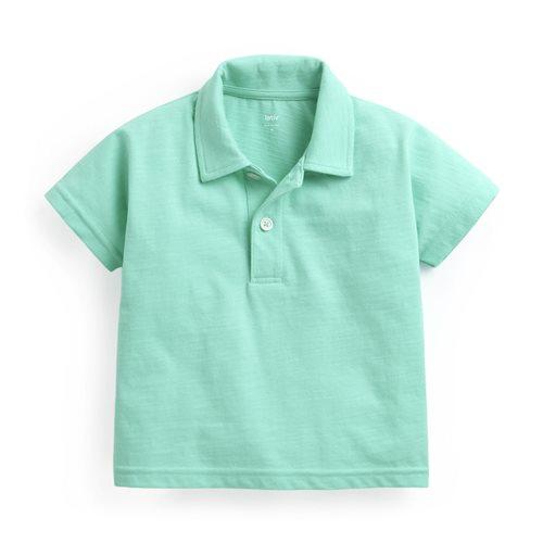 竹節棉polo衫-Baby