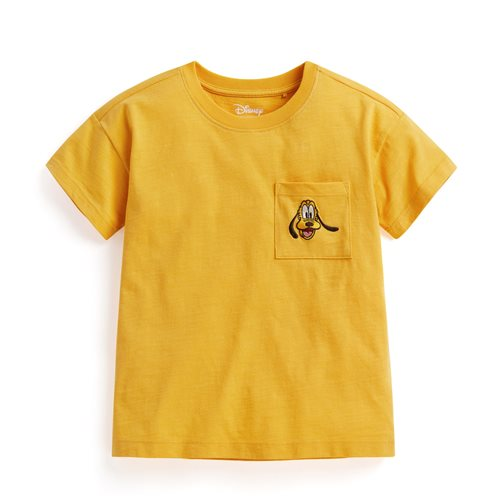 迪士尼系列竹節棉口袋T恤-童